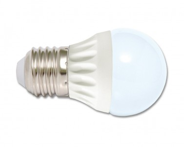 LED žárovka 5W E27  LED5W-G45/E27/2700 mini globe teple bílá Ecoplanet