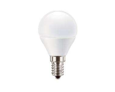LED žárovka PILA LUSTER 5,5W E14 mini globe 2700K teple bílá Philips