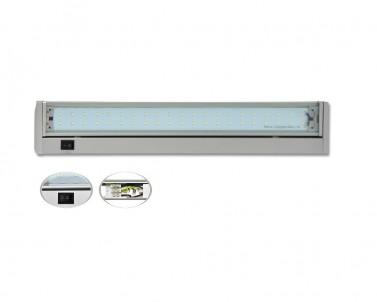 Přisazené LED svítidlo pod kuch.linku GANYS SMD TL2016-42SMD stříbrné 10W Ecoplanet