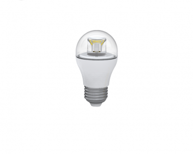 LED žárovka mini globe čirá 6W E27 LED6W G45SX/2706C 3000K teple bílá Skylighting