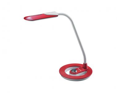 Stolní LED lampa EMA LBL1392-CV 6W červená se stmíváním Ecolite