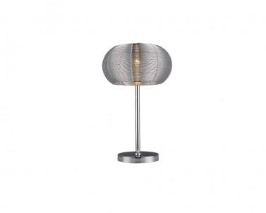 Stolní dekorativní lampa MEDA 2907 1x60W E27 stříbrné Rabalux 2907