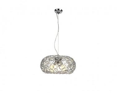Závěsné dekorativní svítidlo DEA 2887 3x60W E27 stříbrné Rabalux