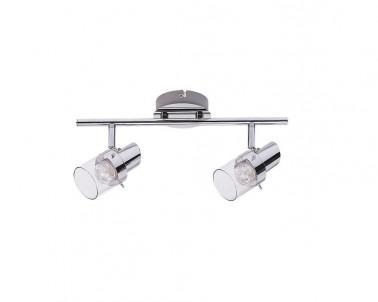 Nástěnné LED bodové svítidlo DAKOTA 6672 LED 2x4,5W lesklý chrom Rabalux
