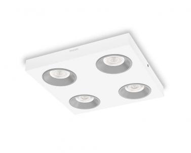 Stropní LED designové bodové svítidlo QUINE 31214/31/16 4x4,5W LED bílé Philips