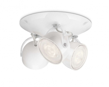 Stropní LED bodové svítidlo DYNA 53233/31/16 3x3W bílá Philips