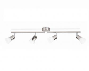 Stropní bodové svítidlo DECAGON 50254/17/E1 4x4,3W LED matný chrom Philips