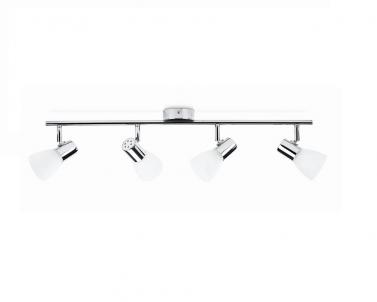 Stropní bodové svítidlo COIR 50244/11/E1 4x4,3W LED lesklý chrom Philips