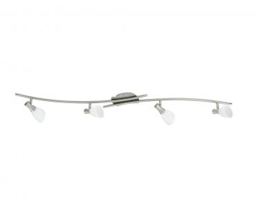 Stropní bodové svítidlo ONA 87366 4x33W G9 matný nikl Eglo