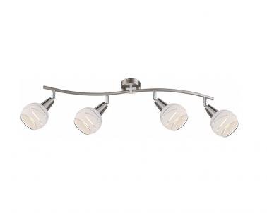 Stropní LED bodové svítidlo ELLIOTT 54341-4 LED 4x4W E14 matný nikl Globo