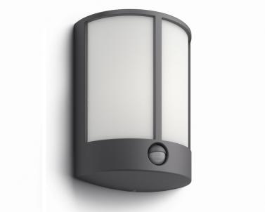 Venkovní LED nástěnné svítidlo STOCK 16465/93/16 LED 6W senzor IP44 Philips