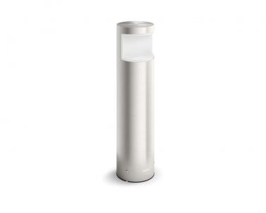 Venkovní LED sloupkové svítidlo malé SQUIRREL 16469/47/16 LED 6W nerez IP44 Philips