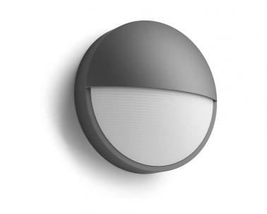 Venkovní LED nástěnné svítidlo CAPRICORN 16455/93/16 LED 6W antracit IP44 Philips