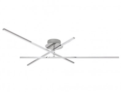 LED stropní přisazené svítidlo Rabalux Meredith 2479 lesklý chrom