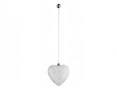 LED vánoční světelná dekorace Globo srdce 23236 15xLED