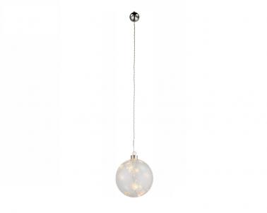 LED vánoční světelná dekorace koule Globo 23235 6xLED s motivem hvězdiček