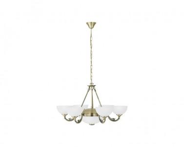Závěsné stropní svítidlo SAVOY Eglo 6x40W 2x60W 82749