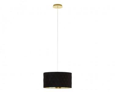 Závěsné stropní svítidlo DOLORITA Eglo 3x60W černá/zlatá 39224