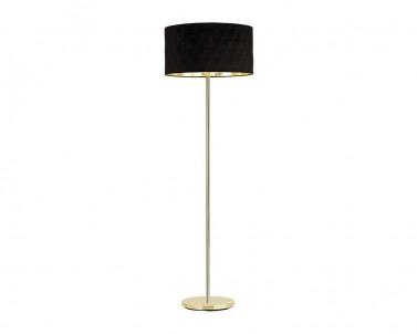 Stojací lampa DOLORITA Eglo černá/zlatá 39228