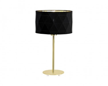 Stolní lampa DOLORITA Eglo černá/zlatá 39227