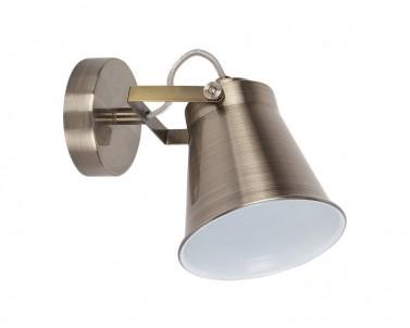 Nástěnné bodové svítidlo MARTINA 6516 1x60W E27 bronz RABALUX