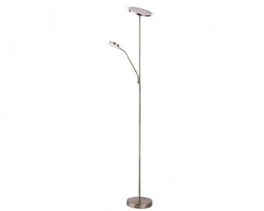 Stojací lampa AARON Rabalux s čtecí lampičkou bronzová 4163