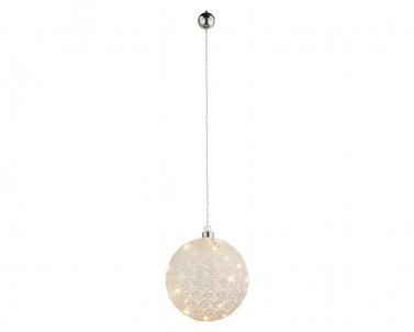 LED závěsná vánoční koule Globo Weihnachtsengel 23232
