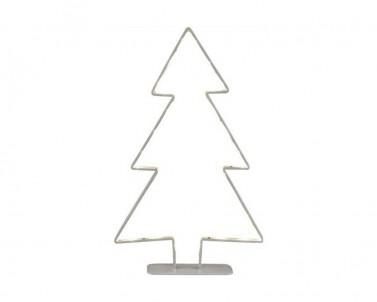 Vánoční dekorace strom Globo Claus 28212