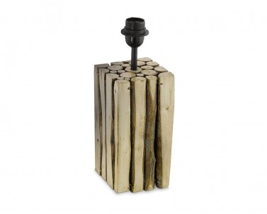 Stolní lampa RIBADEO Eglo 49832 dřevo