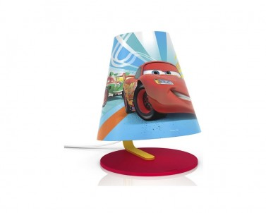Stolní lampa Philips Disney Cars LED 71764/32/16
