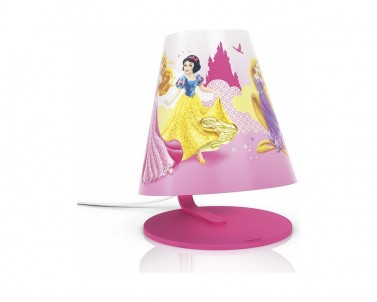 Stolní lampa Philips Disney Princess LED 71764/28/16 č.1