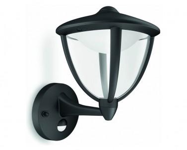 Venkovní nástěnné svítidlo ROBIN Philips s pohybovým senzorem 15479/30/16