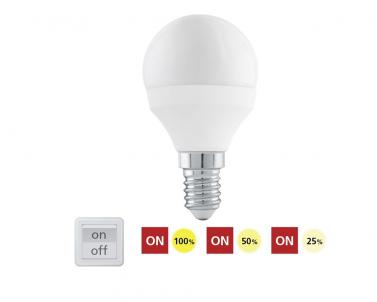 LED žárovka přepínatelná 6W E14 11584 Eglo č.1