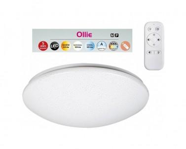 LED stropní přisazené svítidlo Rabalux Ollie 2637 bílá 600 mm
