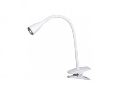 Skřipcová lampička Rabalux Jeff 4196 bílá