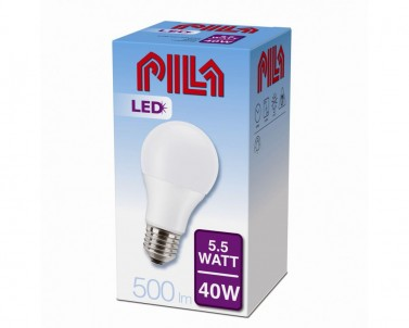 LED žárovka Philips PILA Massive 5,5W/E27/4000K 10-65