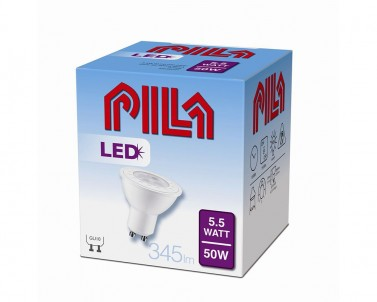 LED žárovka Philips PILA Massive 5,5W/GU10/2700K 52-00