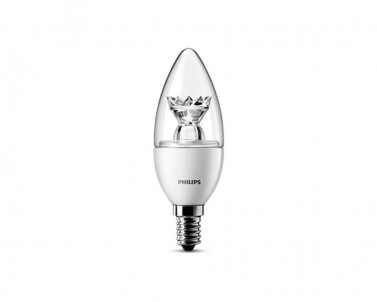 Stmívatelná LED žárovka Philips 6,2W/E14/2700K 41-824