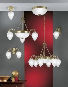 Závěsné stropní svítidlo IMPERIAL 82743 6x40W E14 + 2x60W E27 lustr Eglo - kolekce