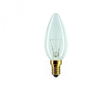 Klasická žárovka Tes-lamp termorezistivní 40W/E14 svíčka 304/Z