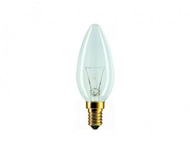 Klasická žárovka Tes-lamp termorezistivní 60W/E14 svíčka 87/Z