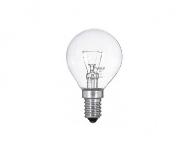 Klasická žárovka Tes-lamp iluminační čirá 25W/E14 400/Z