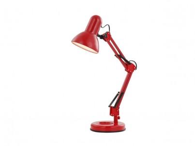 Stolní lampa FAMOUS 24882 40W E27 červená Globo