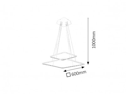 LED stropní svítidlo Rabalux Donatella 2546 bílá č.2