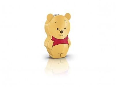 LED baterka Philips Disney Winnie 71767/34/16 žluto červená