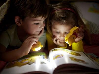 LED baterka Philips Disney Winnie 71767/34/16 žluto červená č.2