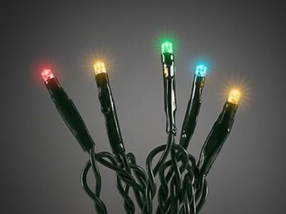 LED barevný vánoční řetěz Exihand 18 m LED-120-COLOR č.1