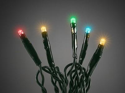 LED vánoční řetěz Exihand barevný 30 m 172200 č.1