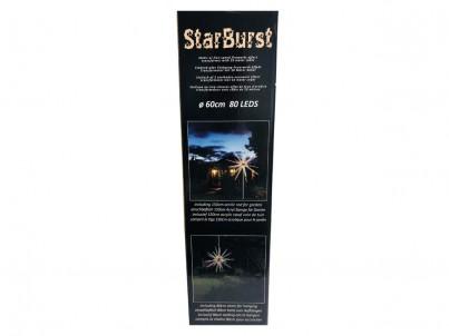 LED venkovní vánoční dekorace FDL StarBurst Ježek 38671