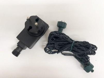 Napojovací LED světelný řetěz  FDL 100 Microleds barevná s trafem 37582 č.3